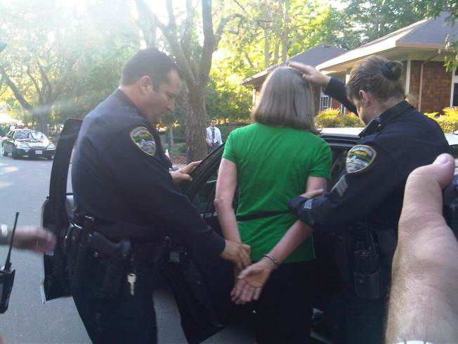 Green Party Candidate Arrested Outside Debate