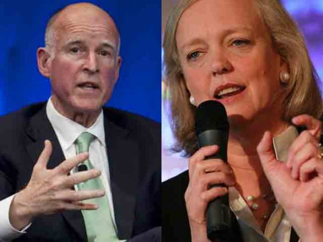 Whitman, Brown Win Party Nominations