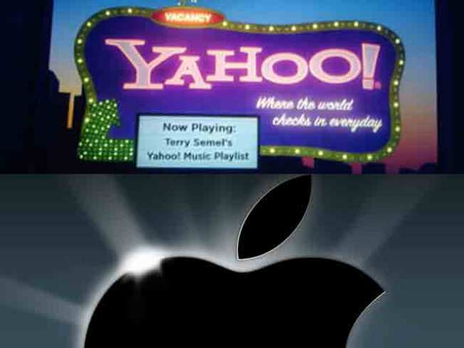 Apple Yahoo Earning Release