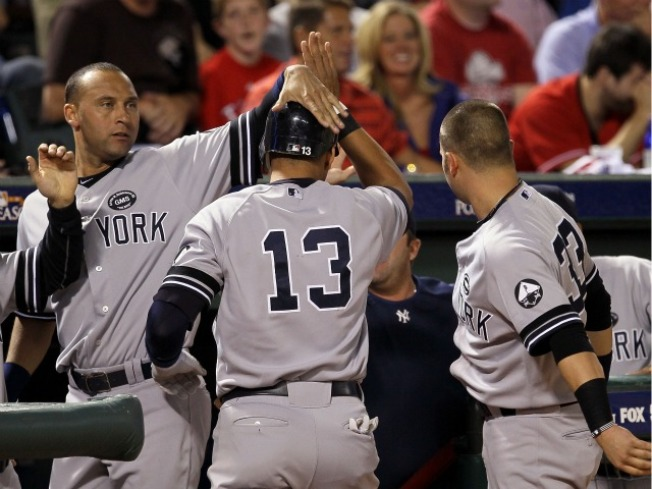 A-Rod, Yankees Rally in 8th, Beat Texas in ALCS