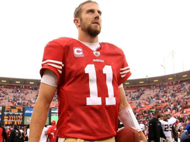 Alex Smith is a 49er: Harbaugh