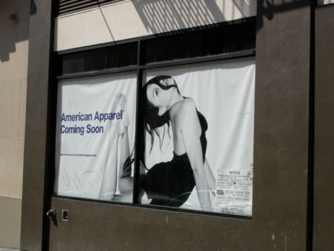 Storefronting: All We Need is Another American Apparel
