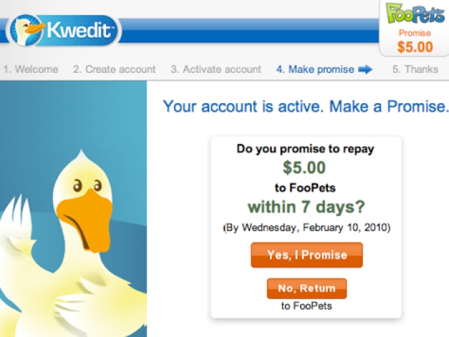 "Nearly Three Quarters Default on ""Kwedit"" Offered Online"