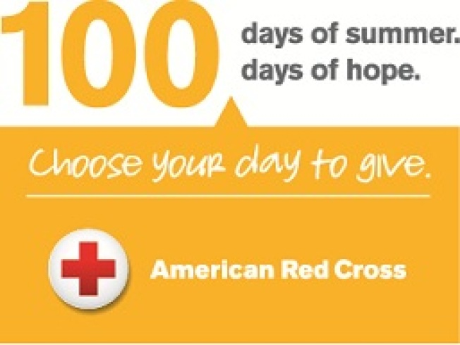 American Red Cross 100 Days of Summer 100 Days of Hope