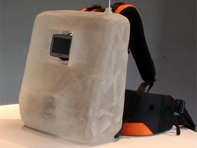 Say Hello to Al Gore's GPS Backpack