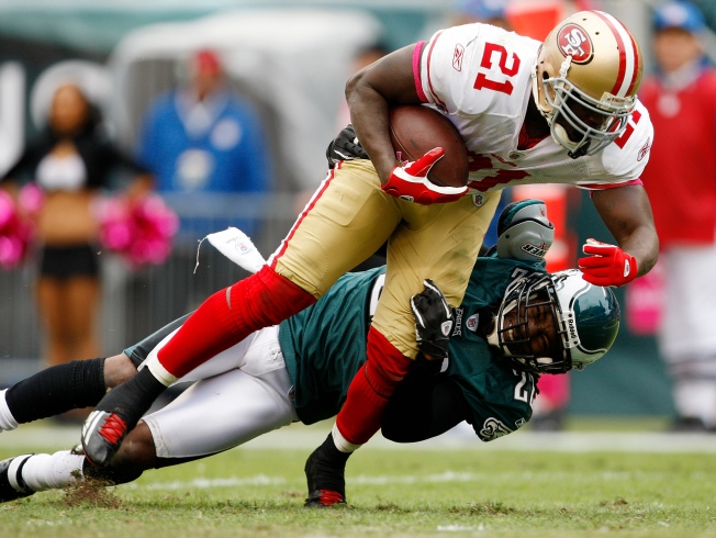 He's Now Running Like the 49ers' Gore of Yore