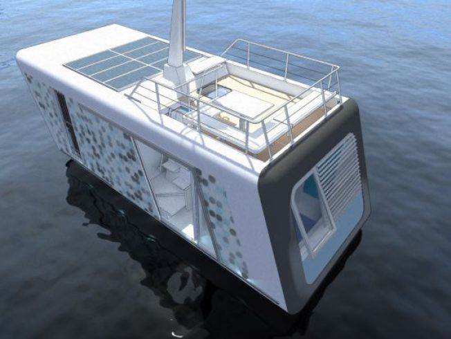 Floating Apartment Is a Green Way to Ease the Housing Crush