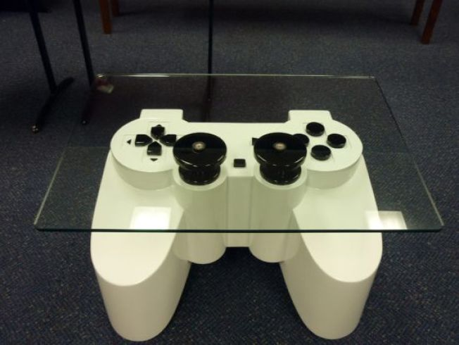 PlayStation Coffee Table Guarantees a Lifetime of Celibacy