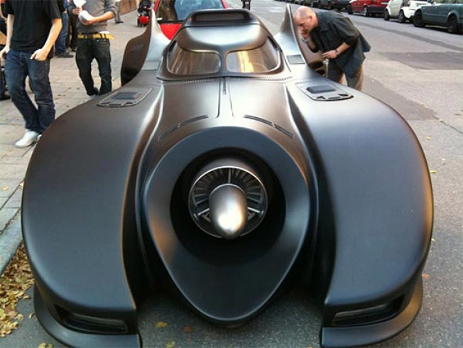 $1 Million Batmobile Rocks the Bat Tech