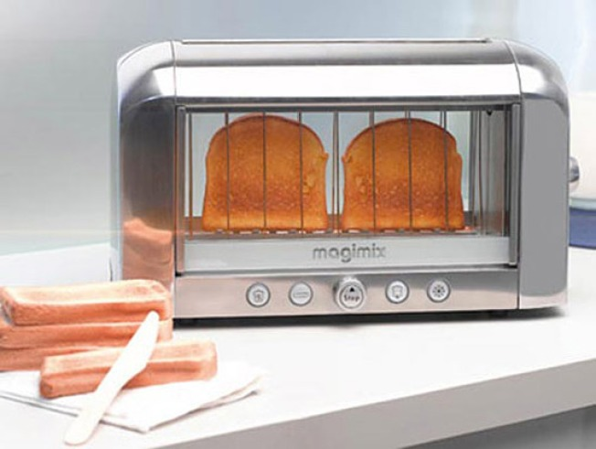 Transparent Toaster Is the Best Bread-Burning Idea Ever