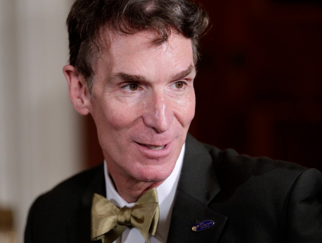 Bill Nye Teams Up With Chabot to Monitor Climate
