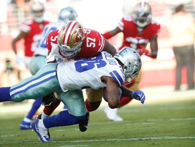 3f2b7bbd In Greenlaw's First Game, 49ers Rookie Looked Like a Playmaker - NBC ...
