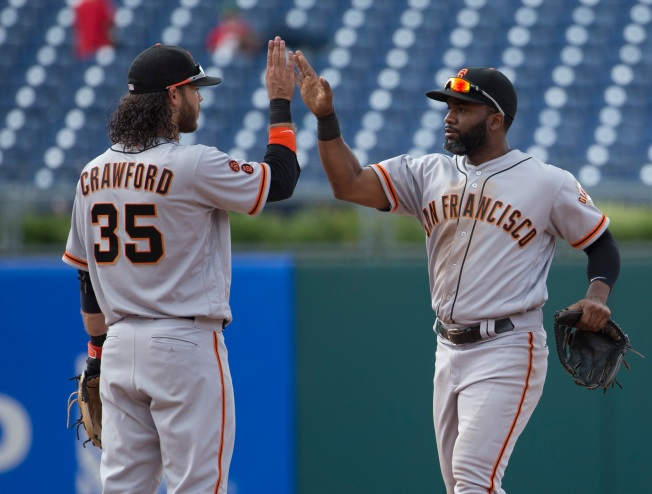 Span Goes Deep in 10th, Giants Avoid Sweep