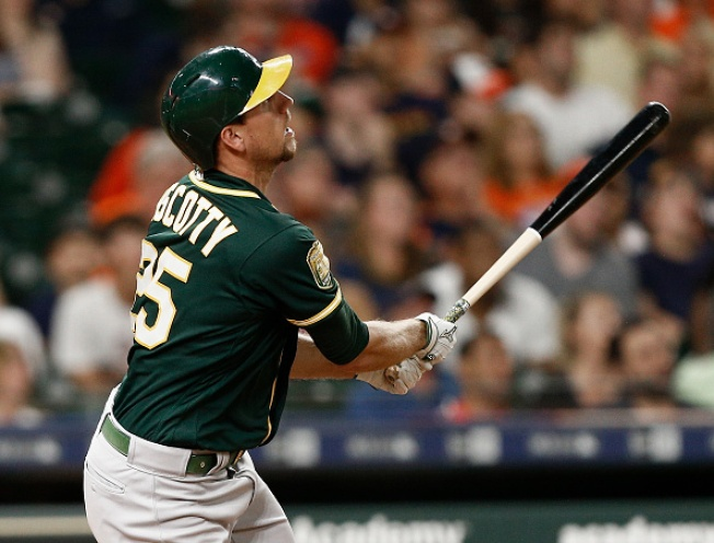 Montas, Piscotty Help A's Blank Astros For Third Straight Win