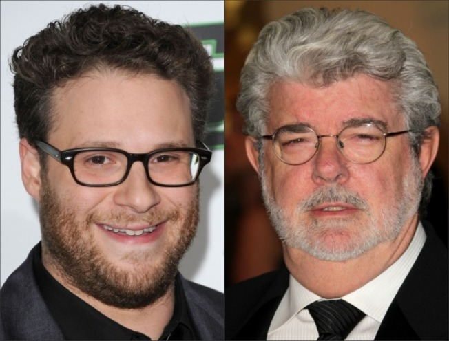 George Lucas Tells Seth Rogen of Coming Apocalypse