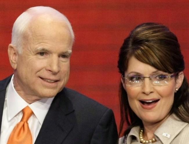 """McCain Upset by """"Vicious Attacks"""" on Palin"""