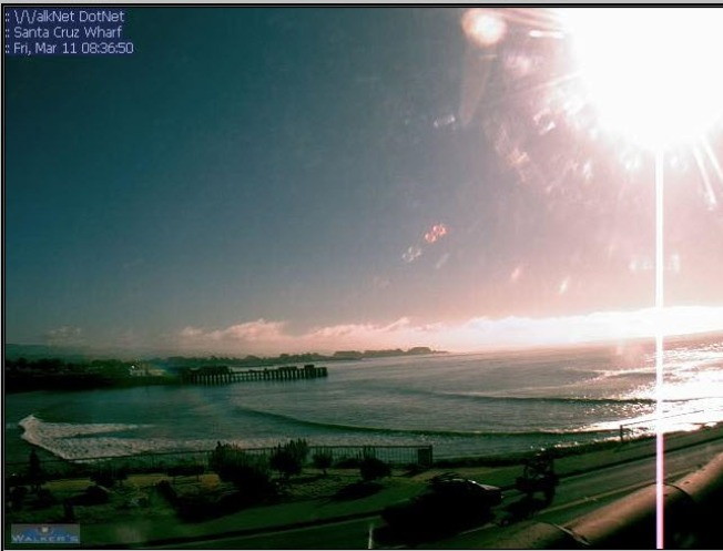 LIVE BEACH CAMS: Santa Cruz, Monterey Bay