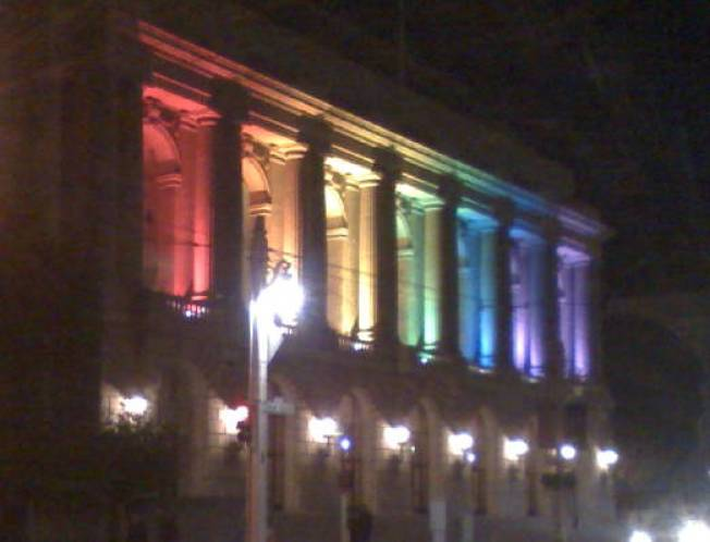 Civic Center Shows the Gays A Little Love
