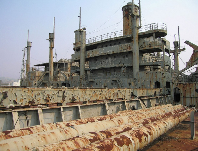Ghost Fleet's Scary Act Finally Leaving the Bay