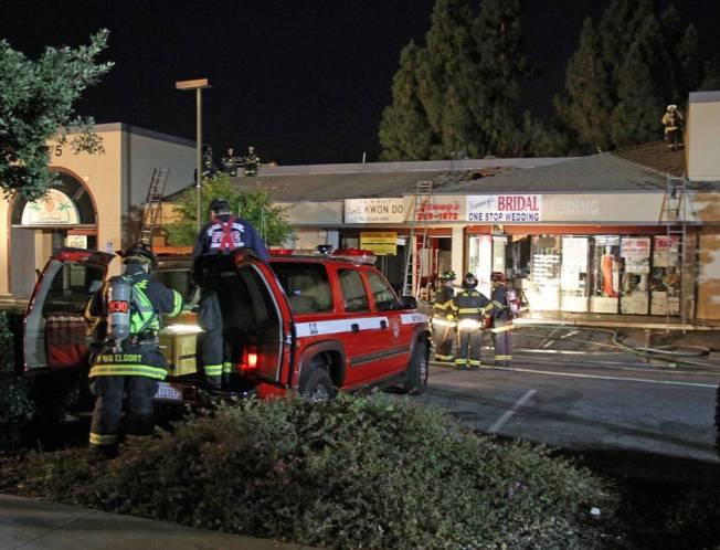 Fire At San Jose Strip Mall