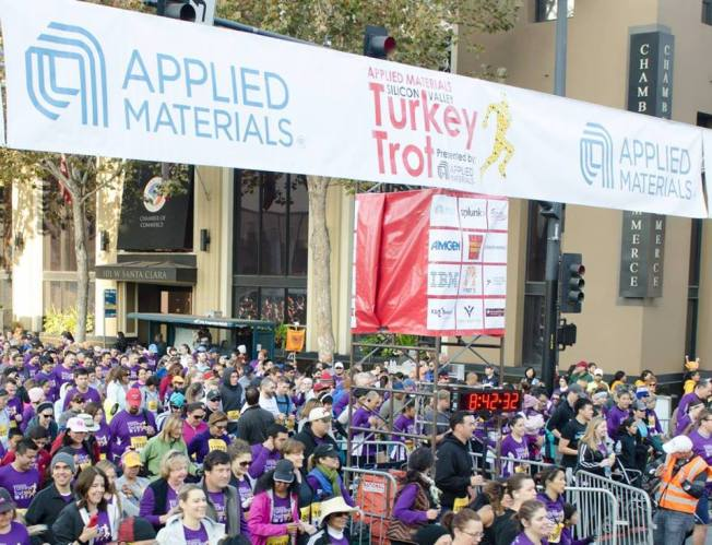 Applied Materials Silicon Valley Turkey Trot 2014