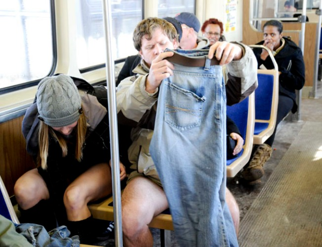 Why BART Riders Weren't Wearing Pants