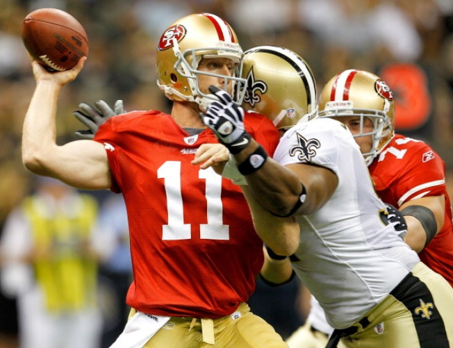 Niners Buried Under Saints' Blitz