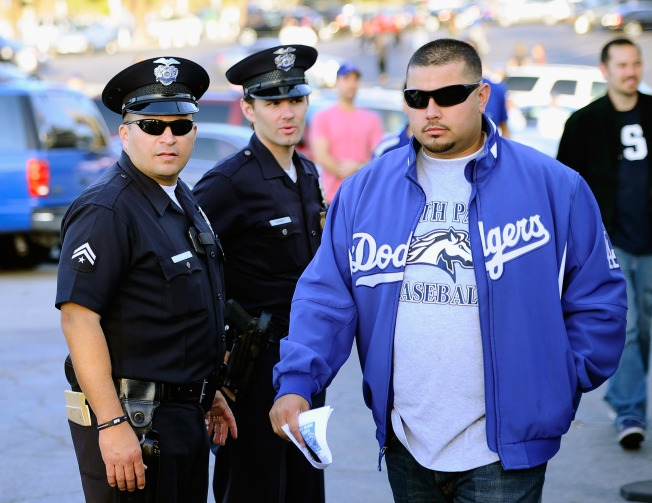 Security Beefed Up for Dodgers-Giants Series