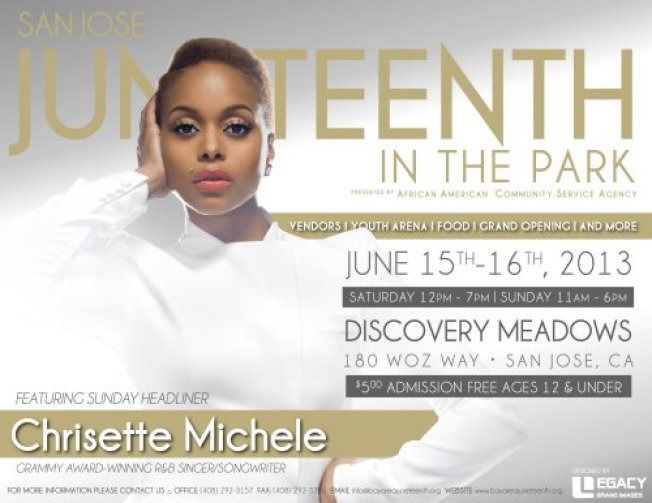 San Jose Juneteenth 150th Celebration in the Park