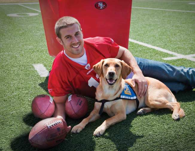 49ers Dogging It for Charity