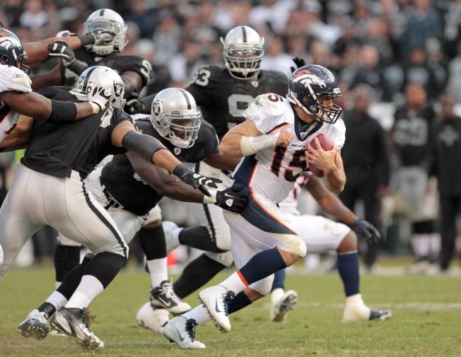 Raiders' McKenzie is Baffled by Defensive Breakdowns of 2011
