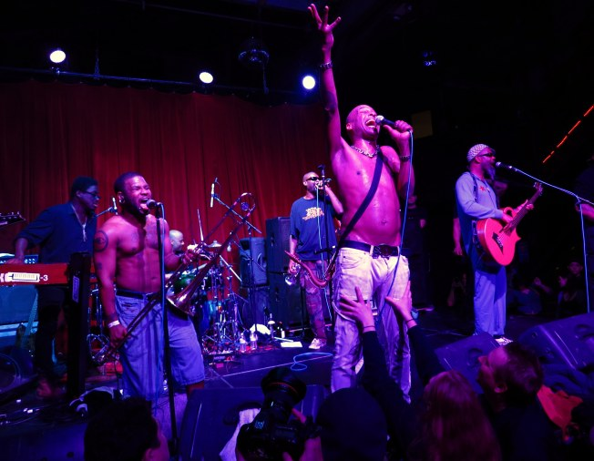 Ring in Apocalypse with Fishbone in SF