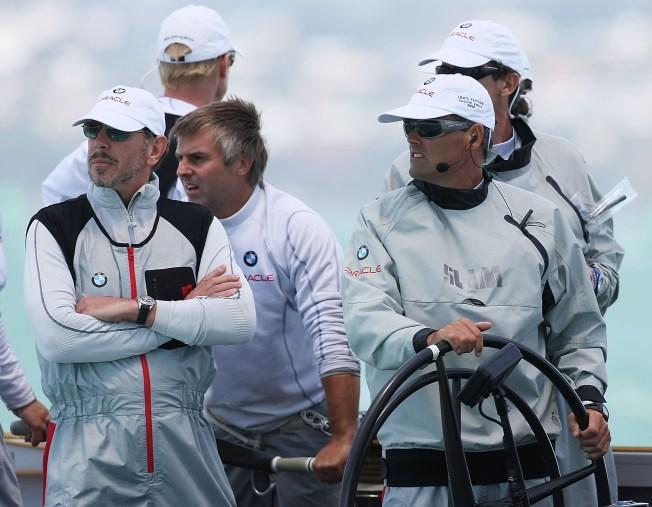 Larry Ellison Trims Sails for America's Cup