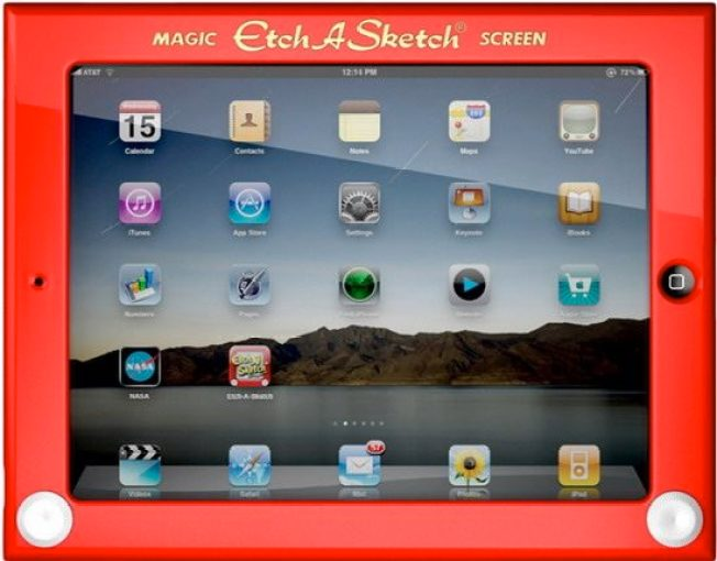 Etch-A-Sketch iPad Case: Most Clever Accessory Ever?