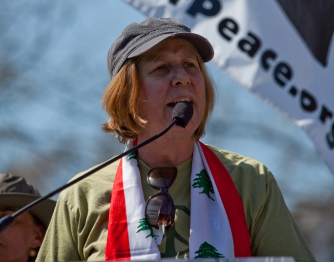 Cindy Sheehan Takes Off in Cross-Country Bike Tour