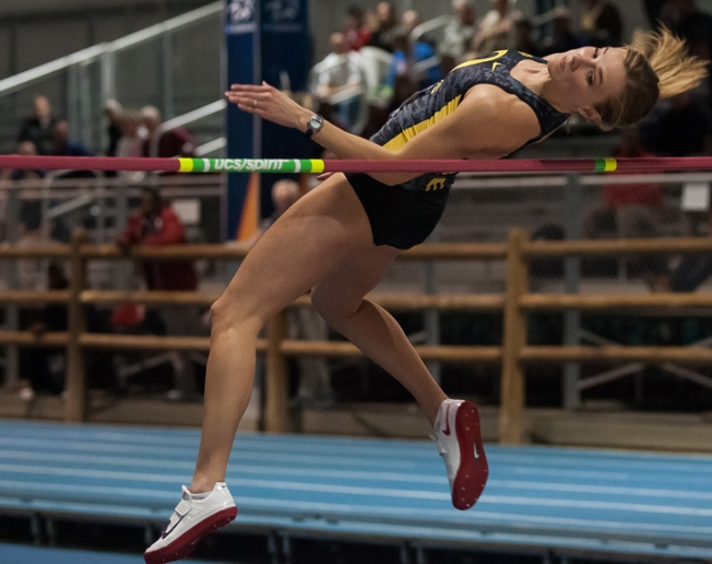 Oregon's Theisen sets Pac-12 Heptathlon Record