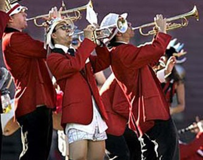 Stanford Band Performs Before, Not During