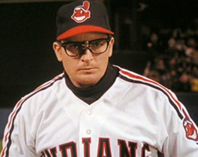 'The Beard' Included in Sheen's Baseball Junket
