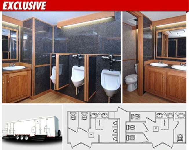 $15,000 Porta-Potties Are Way Nicer Than Your Bathroom