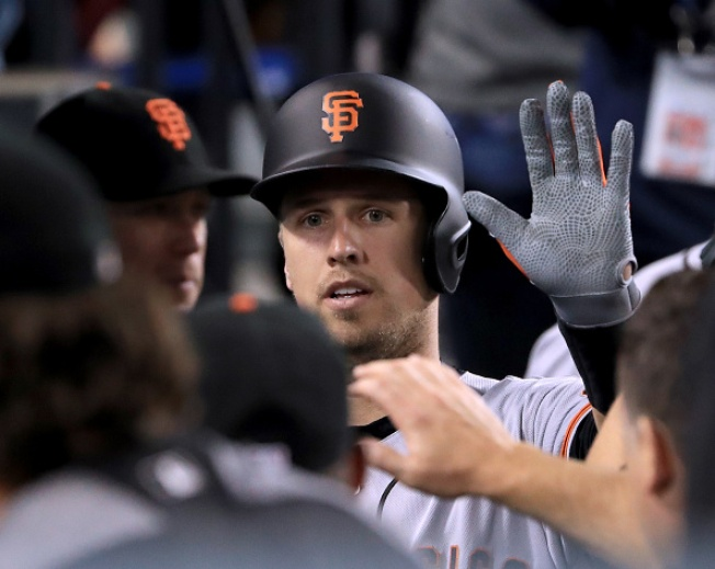 Pence, Posey Homer as Giants Vanquish Kershaw, Dodgers