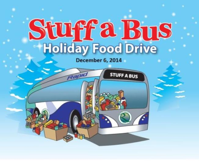"Wheels Annual ""Stuff-A-Bus"" Holiday Food Drive Celebrates the Season of Sharing"