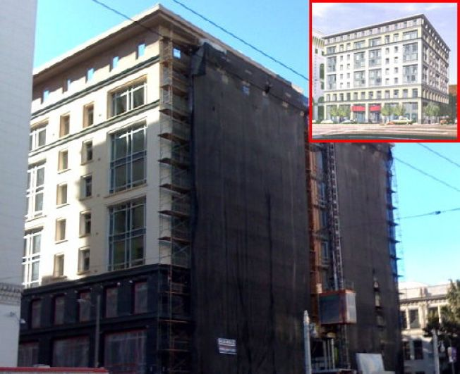 Construction Watch: 77 Van Ness Gets Meat On Its Bones