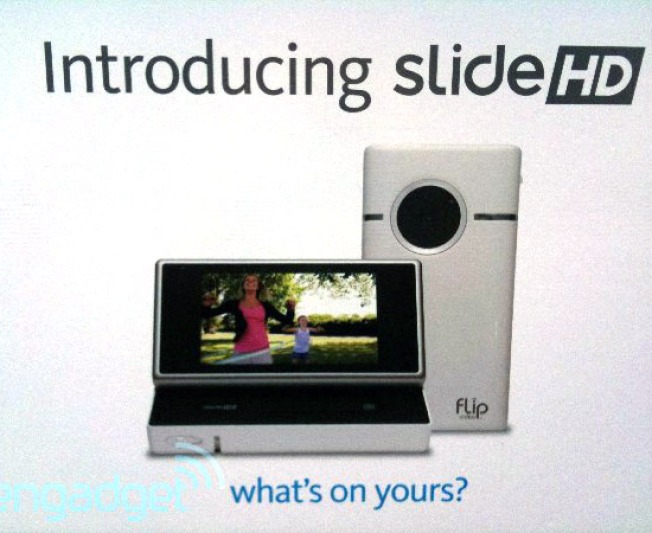 Spy Shots: Flip Slide HD Camcorder Revealed