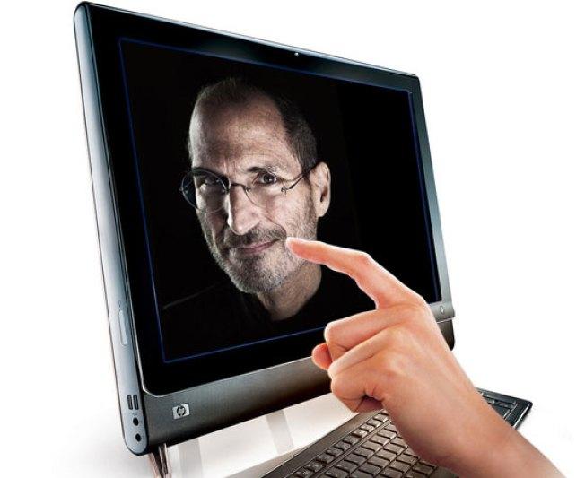 HP to Steve Jobs: Touchscreen PCs Do work (Touch Laptops, Not so Much)