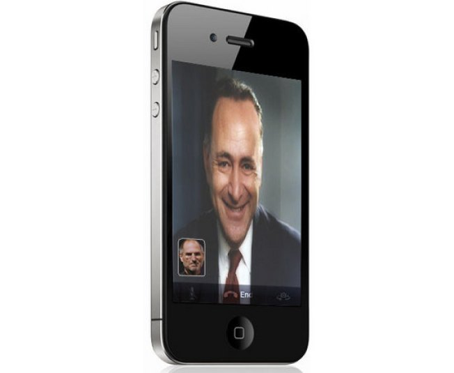 US Senate Gets Involved in iPhone 4 Reception Problem