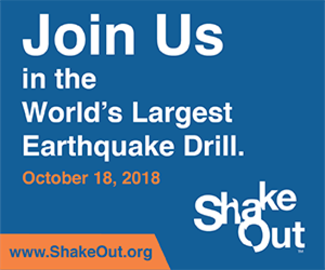 Great California ShakeOut: Bay Area Primary Media Event
