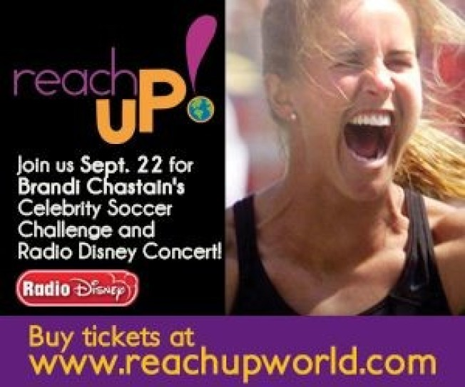 Brandi Chastain Celebrity Soccer Challenge and Radio Disney Concert Sept 22!