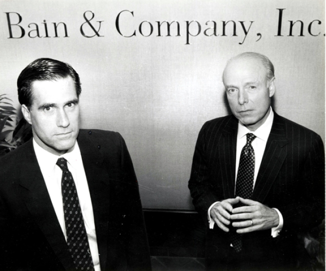 Bain, Romney's Former Firm, Gives Millions to Democrats