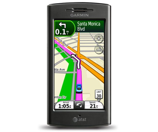 Garmin GPS Phone Finding Its Way to AT&T