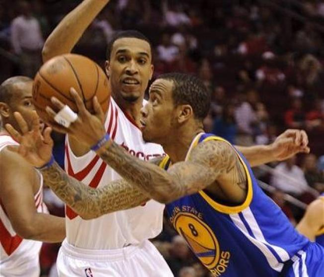 Warriors Have Problems in Houston
